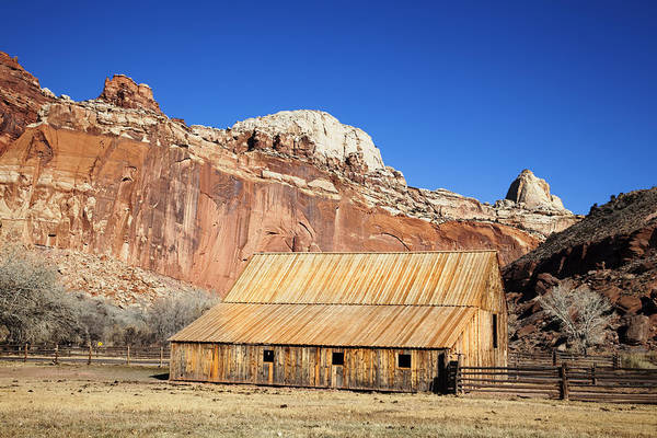Capitol Reef National Park Art Print featuring the photograph Capitol Reef National Park by Mark Smith