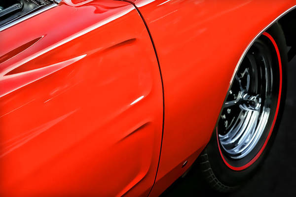 Hemi Print featuring the photograph 1969 Dodge Charger Rt by Gordon Dean II