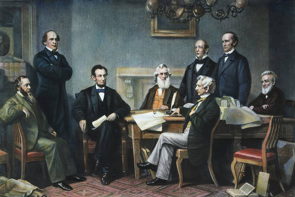 1862 Print featuring the photograph Emancipation Proclamation by Granger