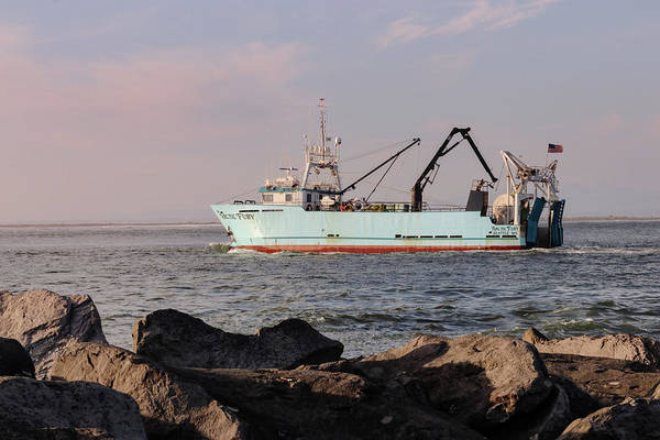 Fishing Boat Art Print featuring the photograph F/v Arctic Fury by Kris Cox