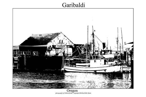 Oregon Coast Photographs Art Print featuring the photograph Garibaldi by William Jones