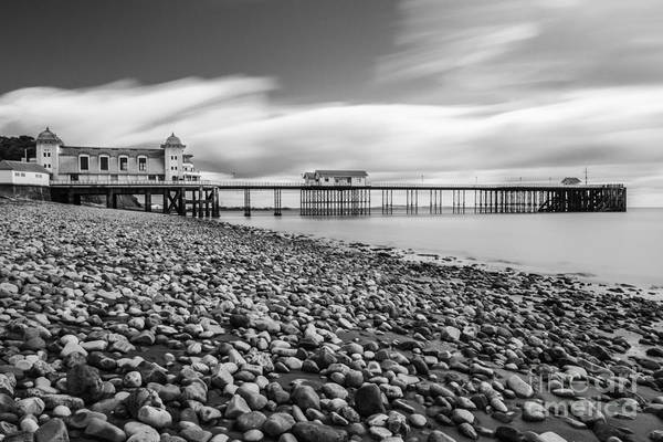 Penarth Pier Art Print featuring the photograph Penarth Pier 5 by Steve Purnell