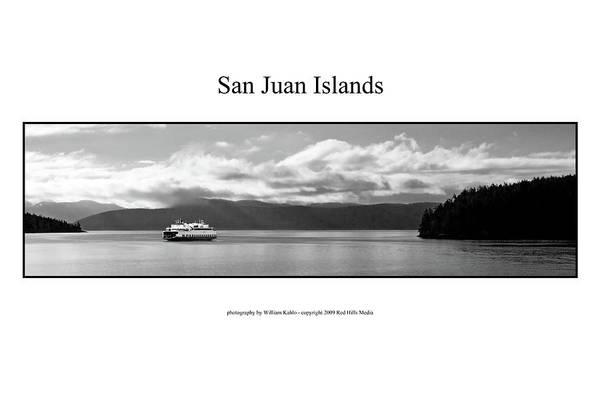 San Juan Photographs Art Print featuring the photograph San Juan Islands by William Jones
