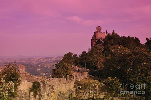 San Marino Art Print featuring the photograph San Marino by LS Photography