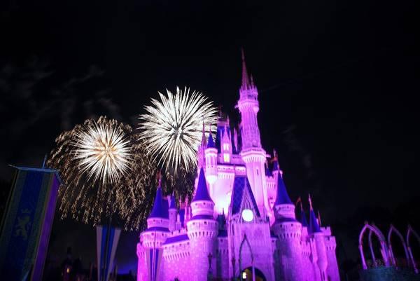 Walt Disney World Art Print featuring the photograph Cinderella Castle by Rob Hans