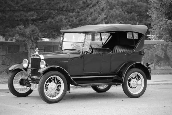 Ford Art Print featuring the photograph '27 T Touring by Jon Rossiter