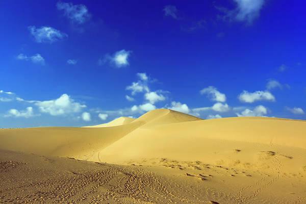 Sand Print featuring the photograph Sandy Desert by MotHaiBaPhoto Prints