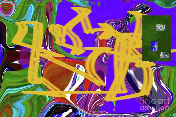 Walter Paul Bebirian Art Print featuring the digital art 4-19-2015babcdefghijkl by Walter Paul Bebirian