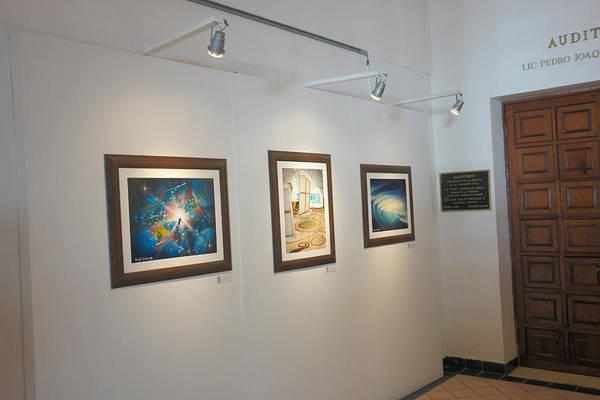 Exhibition Cozumel Museum Art Print featuring the photograph Exhibition Cozumel Museum by Angel Ortiz