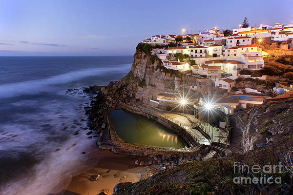 Architecture Art Print featuring the photograph Azenhas Do Mar by Andre Goncalves