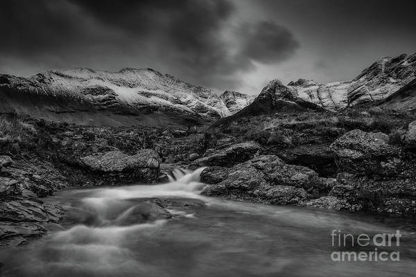 Fairy Pools Art Print featuring the photograph Fairy Pools Of River Brittle by Keith Thorburn LRPS EFIAP CPAGB