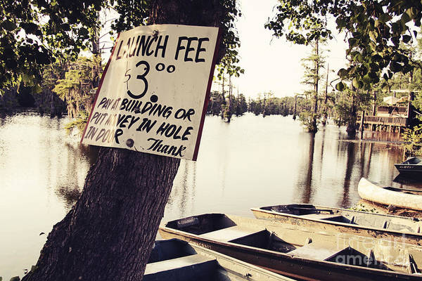 Launch Fee Art Print featuring the photograph Launch Fee - Toned by Scott Pellegrin