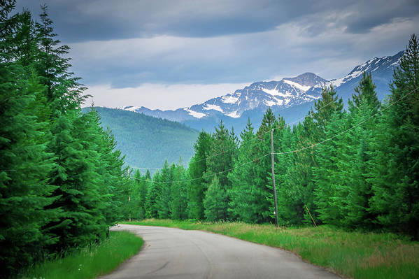 Landscape Art Print featuring the photograph Vast Scenic Montana State Landscapes And Nature by Alex Grichenko