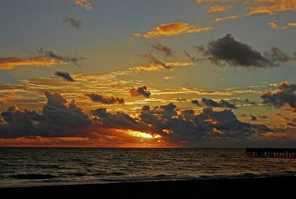 Sunrise Art Print featuring the photograph 6- Juno Beach by Joseph Keane