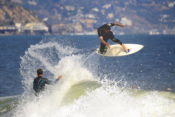 Surfer Art Print featuring the photograph Surfer by Marc Bittan