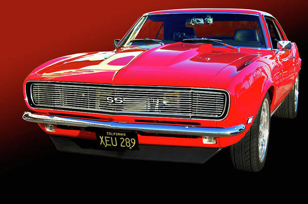 68 Print featuring the photograph 68 Ss Camaro by Bill Dutting