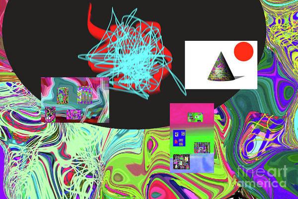 Walter Paul Bebirian Art Print featuring the digital art 7-20-2015gabcdefghijklmnopqrtuvwxyzabcdefghijk by Walter Paul Bebirian