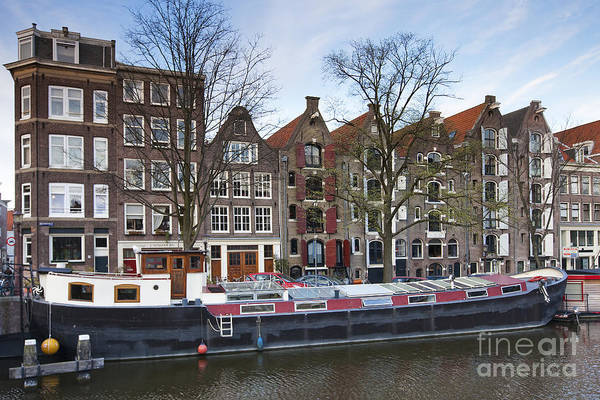 Age Art Print featuring the photograph Channels Of Amsterdam by Andre Goncalves