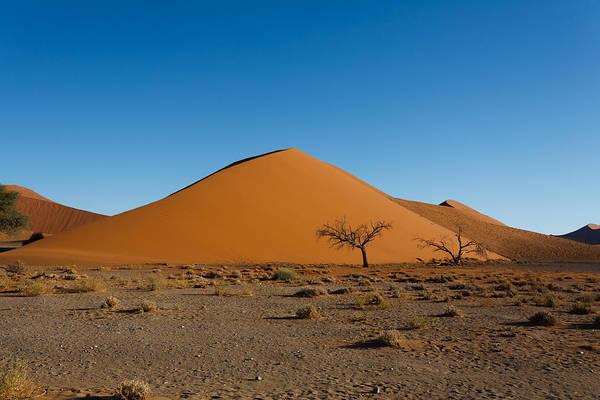 Kalahari Art Print featuring the photograph Sossusvlei Dunes by Davide Guidolin
