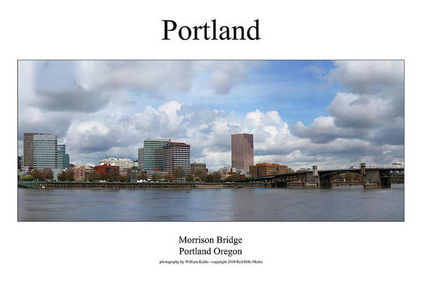 Portland Photographs Art Print featuring the photograph Portland by William Jones