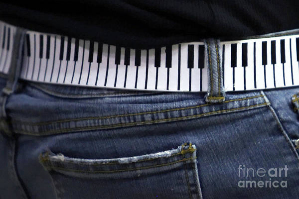 Acoustic Art Print featuring the photograph A Belt Of Cords by Alan Look
