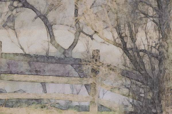 Chester County Art Print featuring the photograph A Creek Runs Through It by Susan Maxwell Schmidt