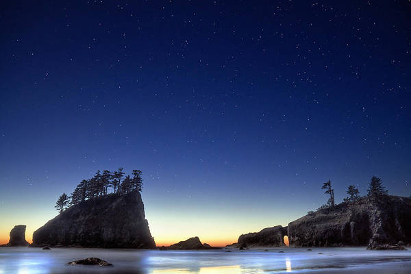 Landscape Art Print featuring the photograph A Night For Stargazing by William Lee