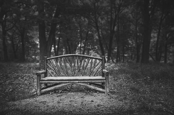Wooden Bench Art Print featuring the photograph A Place To Sit 6 by Scott Norris