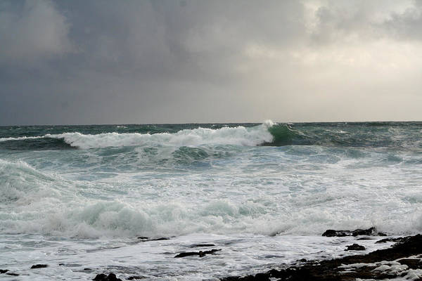 Ireland Art Print featuring the photograph A Stormy Day In Doolin by Beverlee Singer