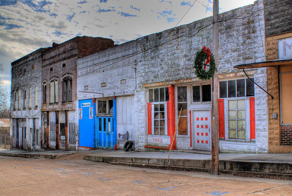 Abandoned Art Print featuring the photograph Abandoned Main Street by Douglas Barnett