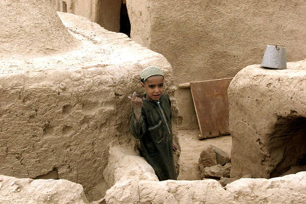 Afghanistan Art Print featuring the photograph Afghan Child by Thomas Michael Corcoran