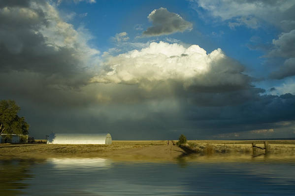 Storm Art Print featuring the photograph After The Storm by Jerry McElroy