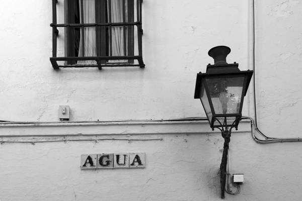 Sevilla Art Print featuring the photograph Agua by Jan Kapoor