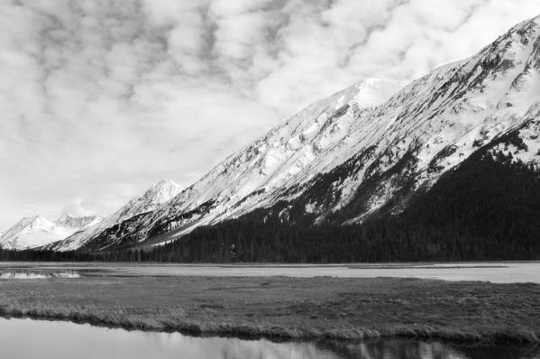 Mountains Art Print featuring the photograph Alaska Mountains by Ty Nichols