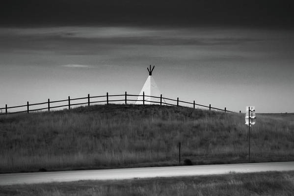 Teepee Art Print featuring the photograph All That Remains by Jonas Ogrefoln