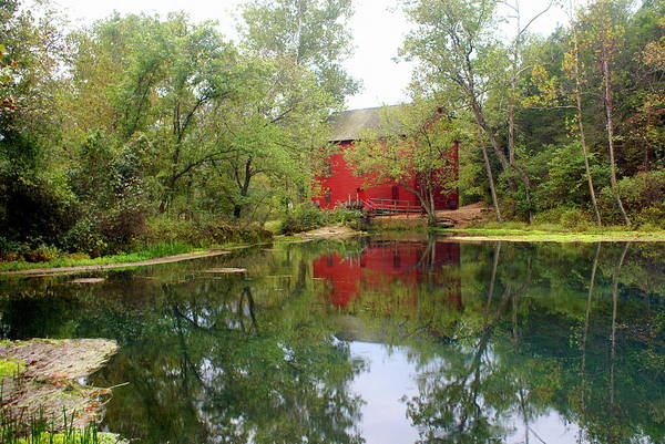 Mill Art Print featuring the photograph Allsy Sprng Mill by Marty Koch