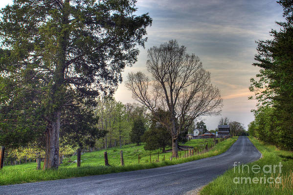 Virginia Art Print featuring the photograph Almost Home by Pete Hellmann