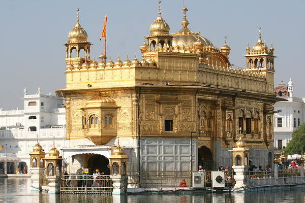 India -travel Art Print featuring the photograph Amritsar by Andrei Fried