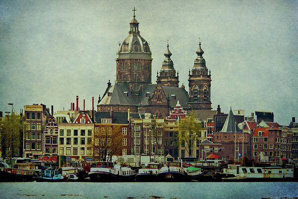 Amsterdam Art Print featuring the photograph Amsterdam Skyline by Jill Smith
