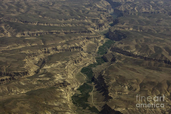 Aerail Art Print featuring the photograph An Afghan Valley by Tim Grams