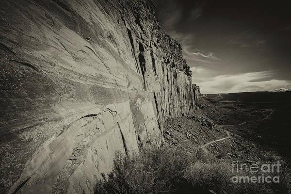 Utah Landscape Art Print featuring the photograph Ancient Walls by Jim Garrison