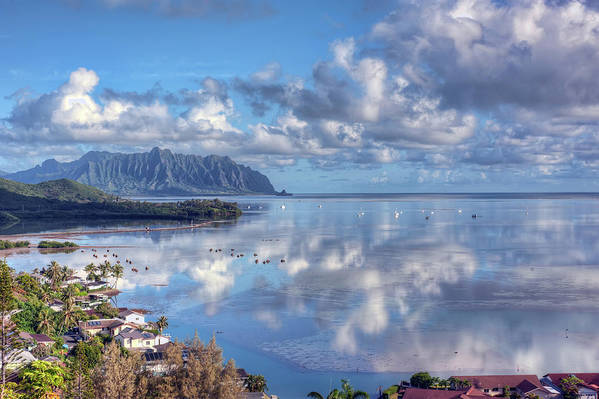 Hdr Art Print featuring the photograph Another Kaneohe Morning by Dan McManus