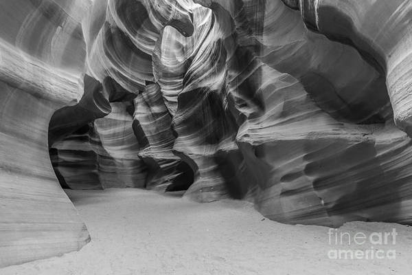 Antelope Canyon Art Print featuring the photograph Antelope Canyon Abstract by Ben Adkison