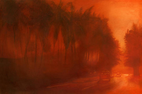 Landscape Art Print featuring the painting Apocalypse Dawn by Paulo Sabado