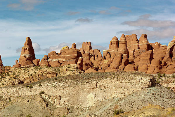 Spire Art Print featuring the photograph Arches Spires by Peter J Sucy