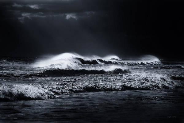 Atlantic Ocean Art Print featuring the photograph Atlantic Ocean by Dapixara Art