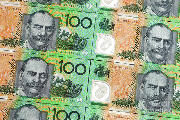 Australian Art Print featuring the photograph Aussie Dollars 09 by Rick Piper Photography