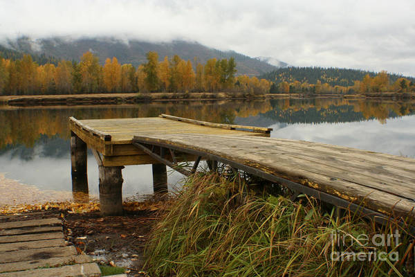 River Art Print featuring the photograph Autumn On The River by Idaho Scenic Images Linda Lantzy