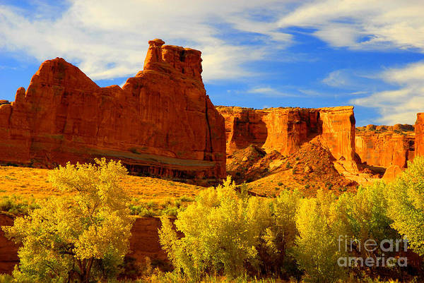 Arches Art Print featuring the photograph Autumn Vista by Dennis Hammer