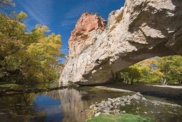 Landscape	Nature	View	Vista	Panorama	Outdoors Art Print featuring the photograph Ayres Natural Bridge by Mary Lane